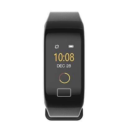 Cebbay Rastreador de Ejercicios Monitor de frecuencia cardíaca de oxígeno de presión Arterial Reloj Inteligente Pulsera
