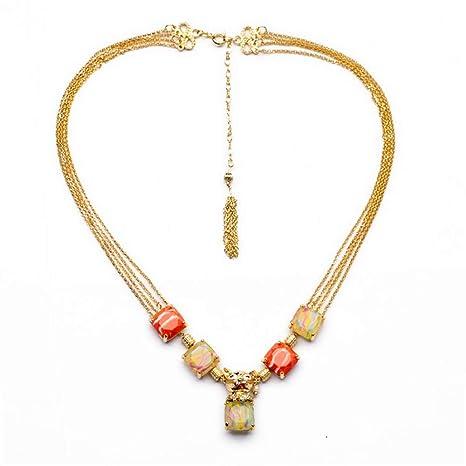 21e2bde4f7bf Lostryy Suéter versátil Cadena Europea Moda Collar Adorno exagerado señoras  Diamond Cachorro Gato Colgante Collar