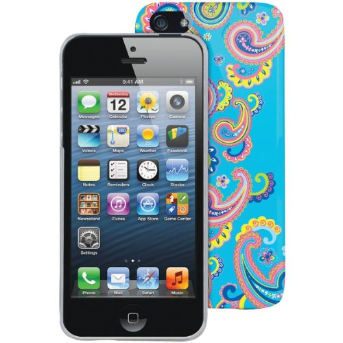 The Macbeth Collection MB-P5CRE Case for iPhone 5 - Retail Packaging - Roxy Electric