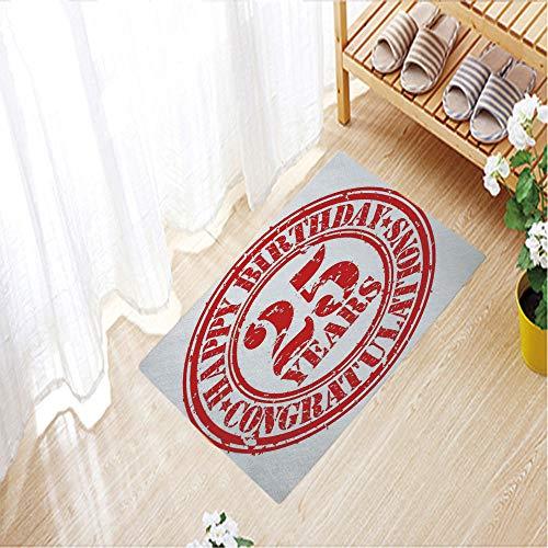 Nordic Carpets Crystal velvet 3D Printed Outdoor Mat Anti-slip for House Door Mat,19.7
