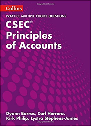 CSEC Principles Of Accounts Multiple Choice Practice