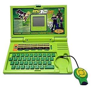 mQFIT Plastic Laptop English Learning...