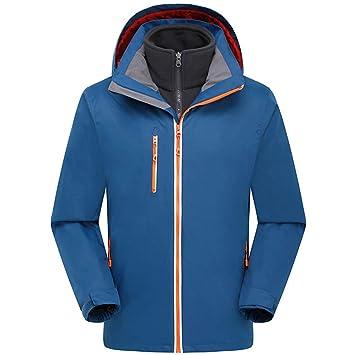 SJZC Chaqueta Impermeable Face The Cortavientos Abrigo Hombres Cazadora Invierno Jacket Chaquetas Abrigos025: Amazon.es: Deportes y aire libre