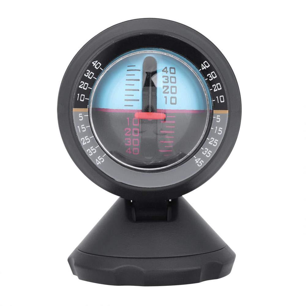 Keenso Car Vehicle Inclinometer Angle Slope Tilt Indicator Level Meter Gradient Balancer Upgrade and Downgrade Slopemeter Finder Tool