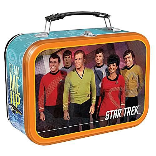 Star Trek Lunch - Vandor 80070 Star Trek Large Tin Tote, Multicolored