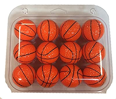 GBM Golf Basketball Golf Ball 12 pack by