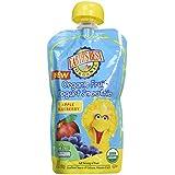 Earth's Best Sesame Street Fruit Yogurt Smoothies - Apple Blueberry - 4.2 oz - 6 pk