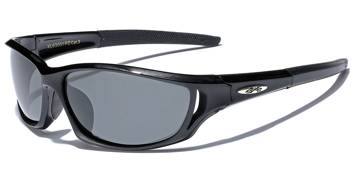 Polarized X-Loop Sport Fishing Golf Driving Outdoor Sports Sunglasses - Black by X-Loop