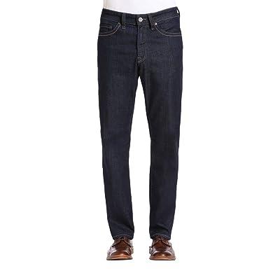34 Heritage Mens Charisma Rinse Vintage Denim Jean Pants, 44W x 34L at Men's Clothing store