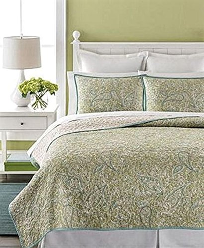 Paisley Standard Sham (Martha Stewart Collection Painted Paisley Standard)