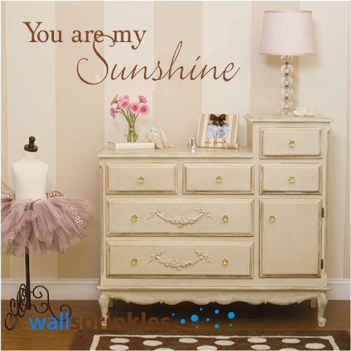 You Are My Sunshine Vinyl Wall Quotes Love Sayings Home Art Decor Decals
