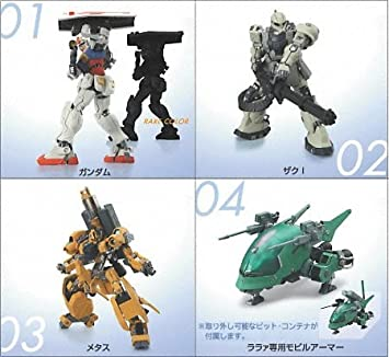 Mobile Suit Gundam Adopt Gundam Adapt wholeセットof 5