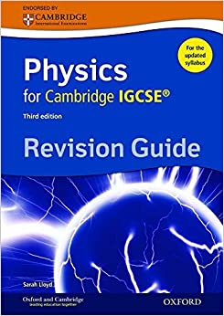 Book Complete Physics for Cambridge IGCSE ® Revision Guide (Third edition) (Igcse Revision Guides) by Sarah Lloyd (22-Jan-2015)