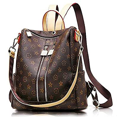0bfc0999d2 Olyphy Designer Leather Backpack Purse for Women