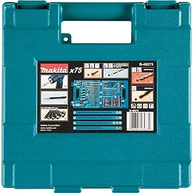 Makita B-49373 Drill and Screw Bit, Set of 75 Pieces 7