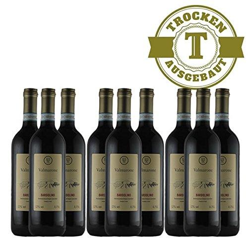 Rotwein Italien Bardolino 2015 trocken (9 x 0,75l) - VERSANDKOSTENFREI -