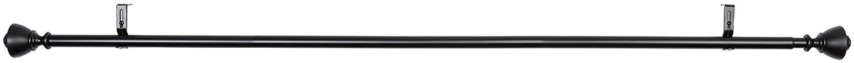 90 /à 180 cm Basics Tringle /à rideau 2,54 cm avec embouts en forme de vase Bronze