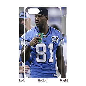 3D Yearinspace Calvin Johnson IPhone 4/4s Cases Calvin Johnson Coffee Protective Cute For Girls, Iphone 4s Case Cheap, {White} by ruishername