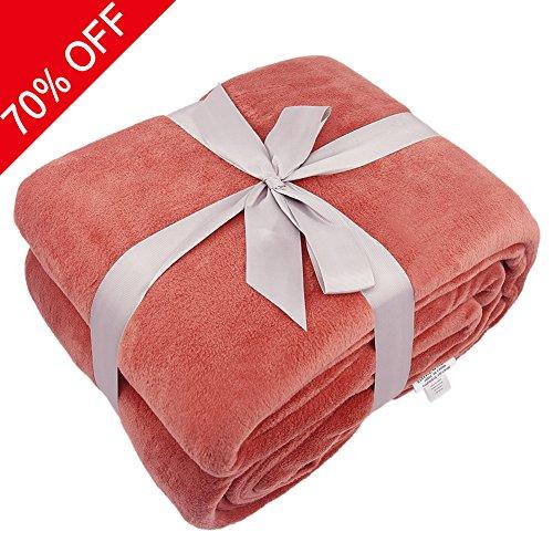 Somewhere Twin Extra Long Blanket, Luxury Super Soft Warm Fu