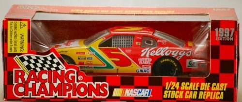 1997 - Racing Champions / NASCAR - Terry Labonte #5 - Kellogg's Corn Flakes - Chevrolet Monte Carlo - 1:24 Scale Die Cast Stock Car - Mint - New - Limited Edition - Out of Production - Collectible - 24 Scale Stock Car