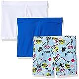 Playground Pals Big Girls' 3pk Bonus Pg Pals, Science Emoji/Dazzling Blue/White, M