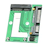 "SODIAL(R) Mini NEW PCI-E Half Height mSATA SSD to 7mm 2.5"" SATA 22pin Hard Sisk Drive PCBA"