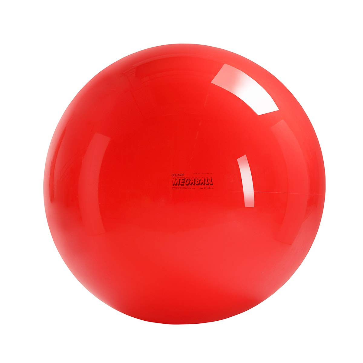 Gymnic Megaball: Group Activity Fitness Ball, Red (180 cm)