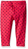 Scout + Ro Big Girls' Printed-Dot Jersey Capri Pant, Lollipop, 10
