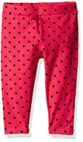 Scout + Ro Big Girls' Printed-Dot Jersey Capri Pant, Lollipop, 10