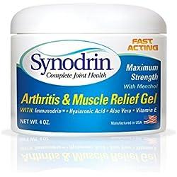 Synodrin Joint Pain Gel with Immunodrin 4oz Jar
