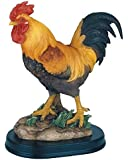 George S. Chen Imports SS-G-54071 Rooster Chicken Farm Animals Decoration Figurine Collection