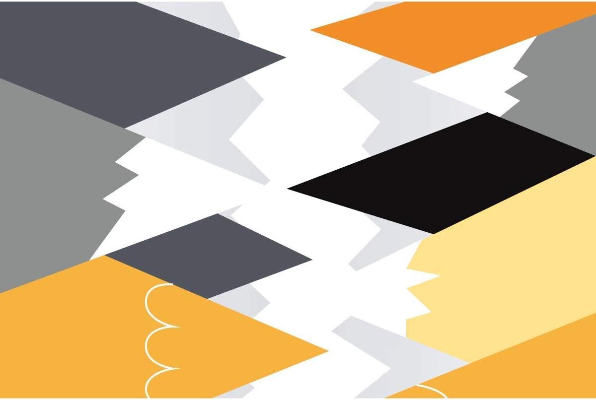 Stickers muraux enfants H50 x L90 cm Stickers muraux enfant Autocollant mural g/éant montagnes scandinaves et animaux en voyage Decoration chambre b/éb/é Sticker mural scandinave
