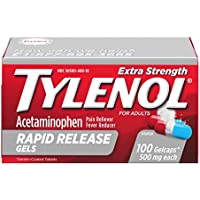 100-Count Tylenol Extra Strength Rapid Release Gels