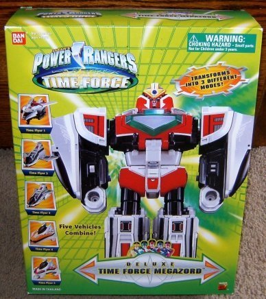 Power Rangers Time Force Deluxe Megazord Action - Time Ban