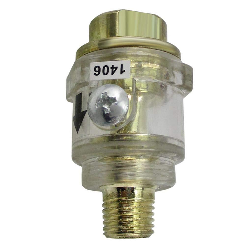 Hardware - Mini lubricador de aceite en lí nea automá tico para herramienta neumá tica de aire GLOBEAGLE