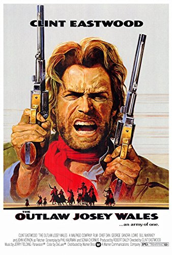 Outlaw Josey Wales Clint Eastwood Movie Poster