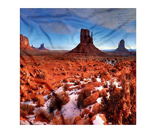 Canyon Bandana By Lunarable  Long Exposure Photo Of Grand Canyon American Landmark Tranquility Native Lands  Printed Unisex Bandana Head And Neck Tie Scarf Headband  22 X 22 Inches  Orange Blue