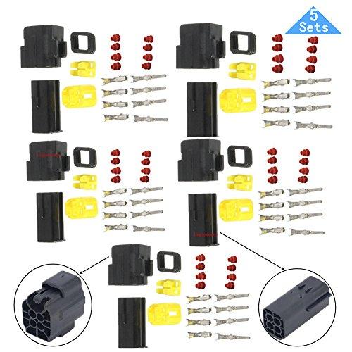 Lsgoodcare 4 Pin Way Waterproof Electrical Wire Connector ... on jeep cj proportioning valve, jeep cj air filter, jeep cj clutch, jeep cj grille, jeep cj alternator, jeep cj coils, jeep cj antenna, jeep cj dash removal, jeep cj shift knob, jeep horn wiring, jeep cj torque converter, jeep cj fuel sender, jeep cj spring, jeep cj shifter, jeep cj gas pedal, jeep cj horn, jeep cj voltage regulator, jeep cj driveshaft, jeep cj turn signal switch, jeep cj intake manifold,