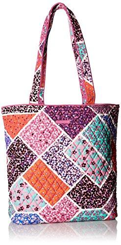 Vera Bradley Unisex Tote Shoulder Handbag, Blue Modern Medley