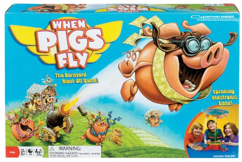 Ideal When Pigs Fly Board Game (Pig Board Game compare prices)