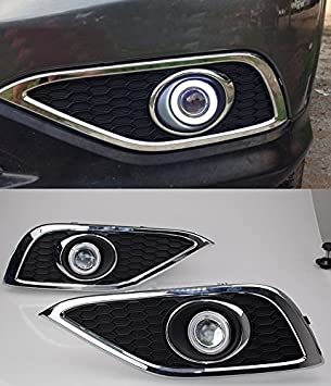 EeMrke EE-FR2015 AE5090 Angel Eye protección-Bombillas halógenas para coche para Honda CRV luces antiniebla CR-V: Amazon.es: Coche y moto