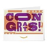 Amazon Gift Card - Print - Congrats (Letterpress)