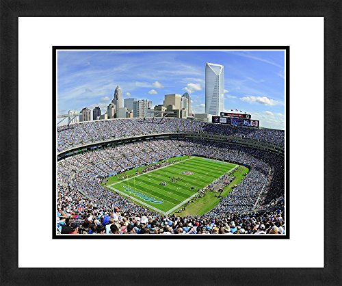 NFL Carolina Panthers Bank of America Stadium, Beautifully Framed and Double Matted, 18