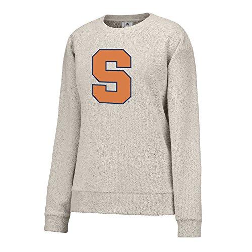 Ncaa Syracuse Orange Womens Innovator Crew Sweatshirt  Medium  Oatmeal