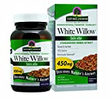 Nature's Answer White Willow Bark Vegetarian Capsules, 60-Count Review