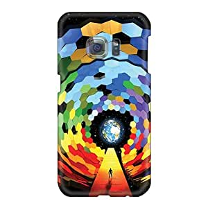 Samsung Galaxy S6 QUY20269Xzde Provide Private Custom Colorful Muse Band Skin Scratch Resistant Hard Phone Covers -MarieFrancePitre