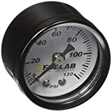 """Fuelab 71501 1.5"""" 0-120 Psi EFI Fuel Pressure Gauge"""