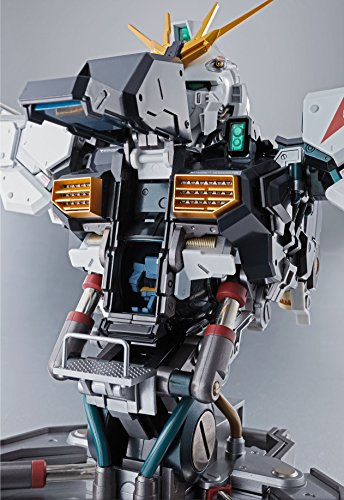 NEW Bandai Mobile Suit Gundam Formania EX Nu Gundam figure LED production