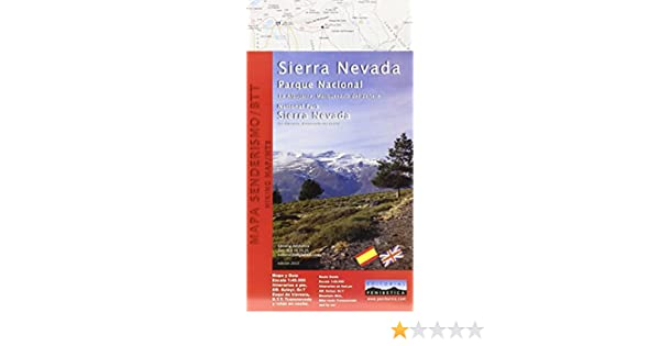 Mapa Parque Nacional de Sierra Nevada. Alpujarra, marquesado del Zenete. Escala 1:40.000. Editorial Penibética. Mapa Y Guia: Amazon.es: Sierra Velasco, Antonio: Libros