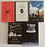 img - for 5 Books! 1) The Curious Incident of the Dog in the Night-time 2) I Capture the Castle 3) The Glass Castle 4) The Devil in the White City 5) The Memory Keeper's Daughter book / textbook / text book